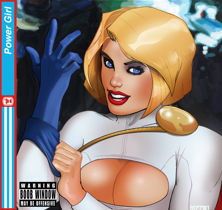 power girl x blink 182 by m7781