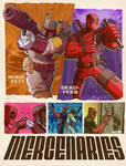 deadpool and boba fett : mercenaries