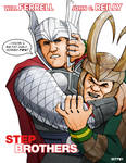 thor and loki: step brothers