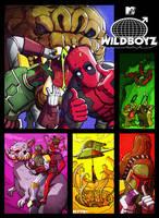 deadpool and boba fett : wildboyz