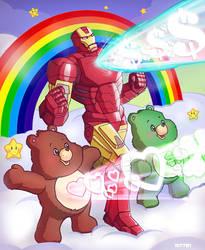 iron man x care bears by m7781