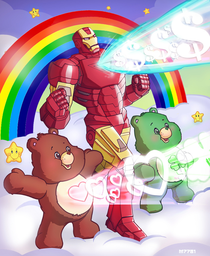 iron man x care bears
