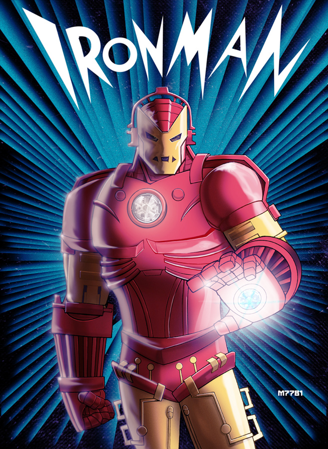 1930s iron man by m7781