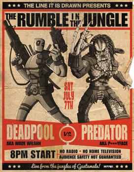 deadpool vs predator