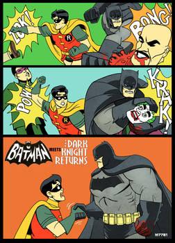 60's Batman TV show x Dark Knight Returns