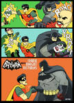 60's Batman TV show x Dark Knight Returns by m7781