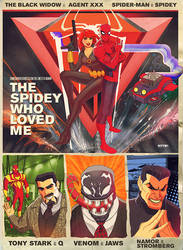 the spidey who loved me by m7781