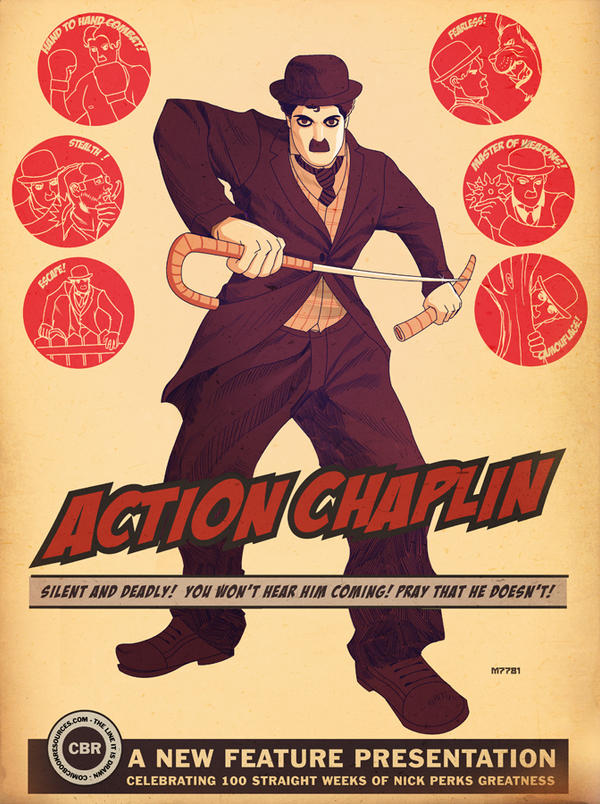 action chaplin! by m7781