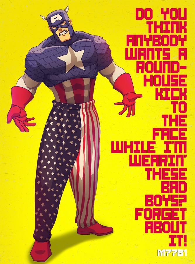 captain america pants