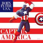 captain america : born in the USA