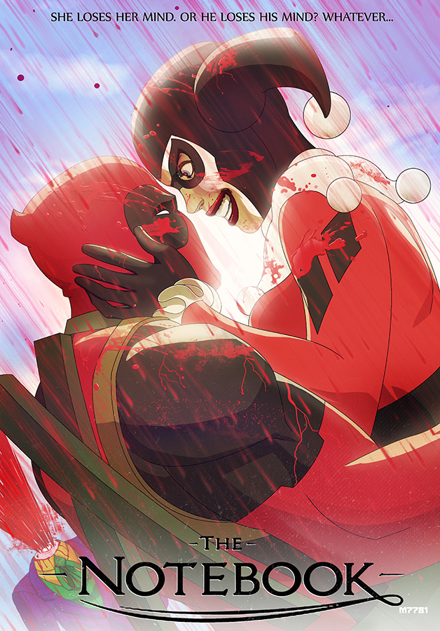 deadpool n' harley quinn: the notebook by m7781