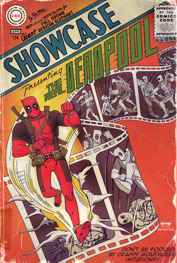 deadpool : showcase by m7781