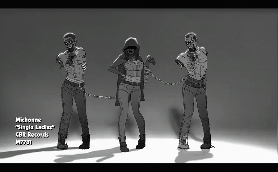michonne : single ladies by m7781