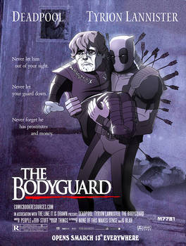 deadpool,  tyrion lannister : the bodyguard