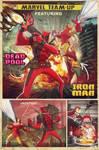 marvel team up: deadpool and iron man