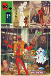 what if... deadpool had a TARDIS