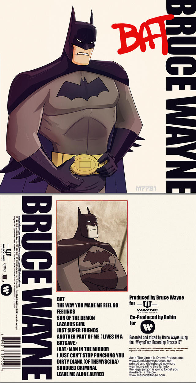 bruce wayne - bat by m7781