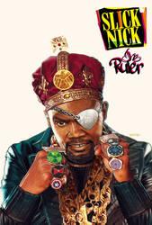 nick fury x slick rick by m7781