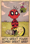 spider-man x charlie brown