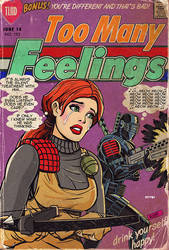 G.I. JOE romance comics by m7781