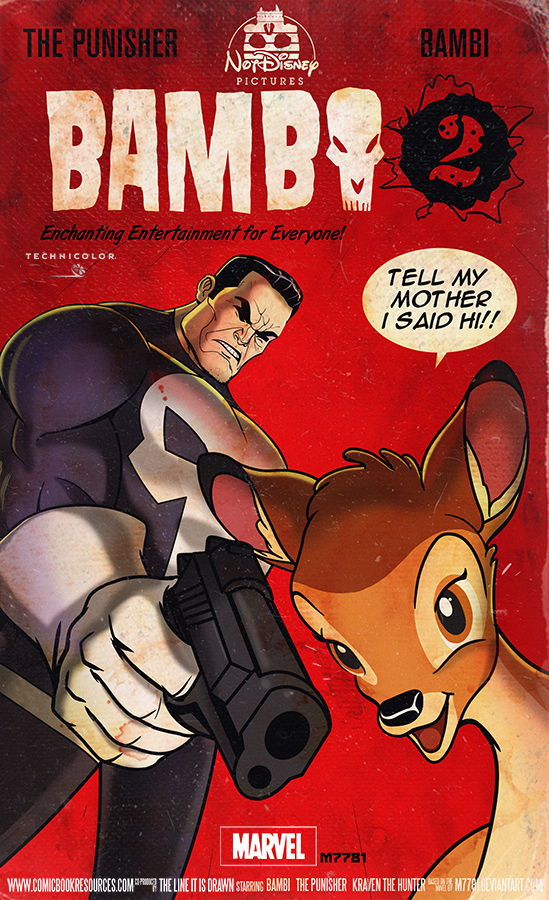 the punisher : bambi 2 by m7781