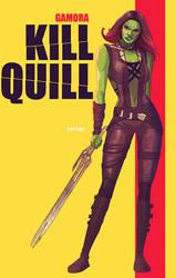 gamora: kill quill by m7781