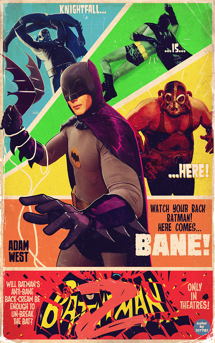 iam8bit - batman 2 by m7781