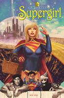 supergirl # 40 wizard of oz variant by m7781