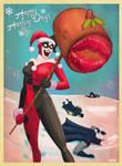 a harley quinn christmas