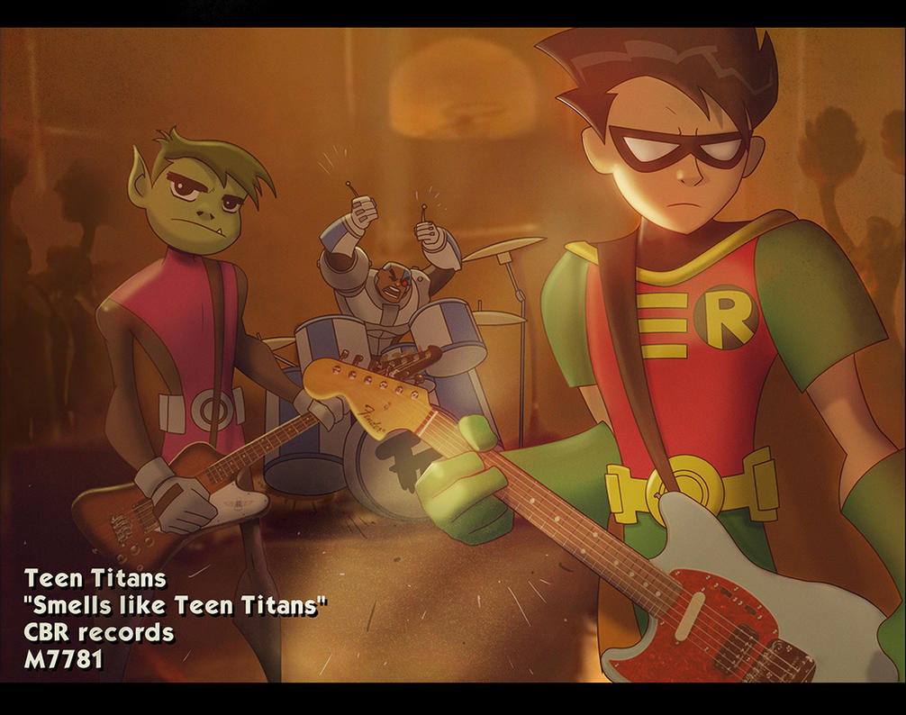 smells like teen titans by m7781