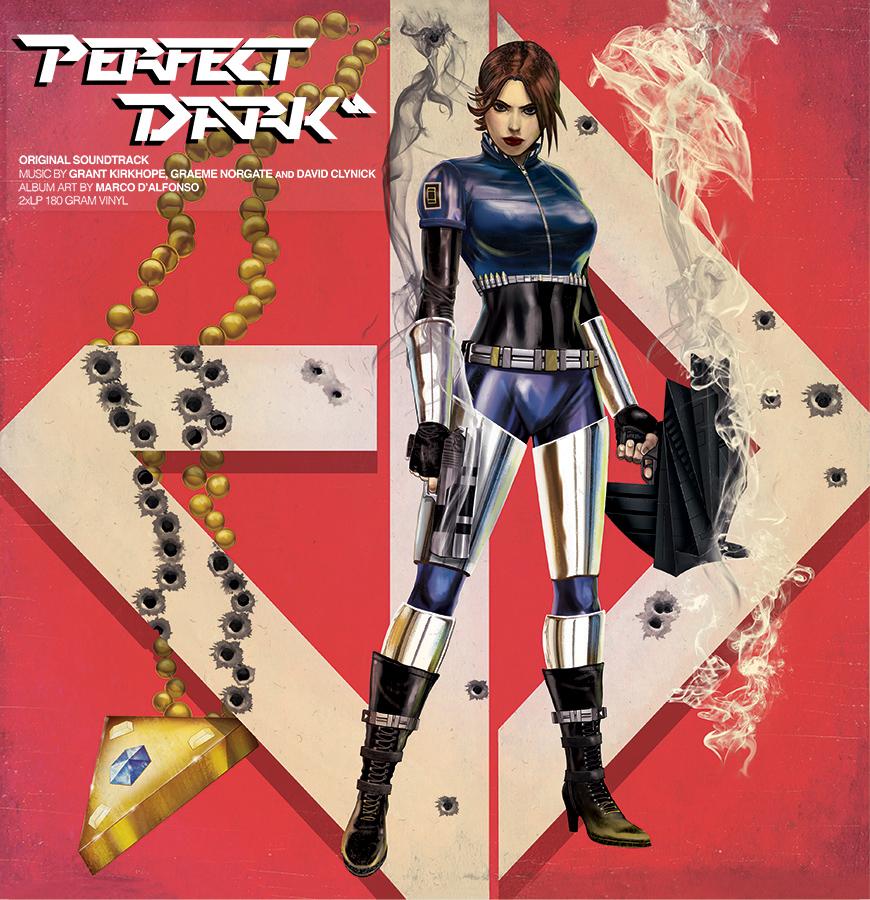 iam8bit: Perfect Dark Vinyl Soundtrack by m7781