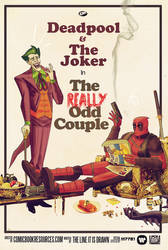 the joker and deadpool : the really odd couple