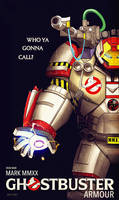 iron man : ghostbuster armour