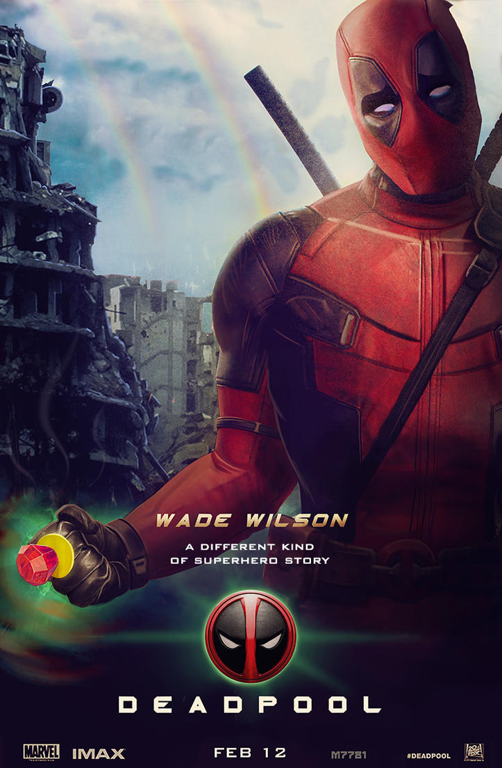 deadpool x green lantern movie posterm7781 on deviantart
