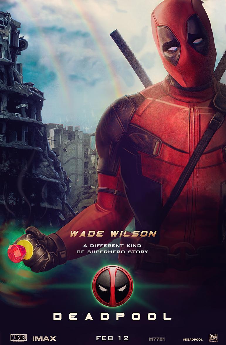 deadpool x green lantern movie poster