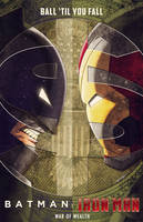 batman v iron man by m7781