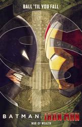 batman v iron man by m7781