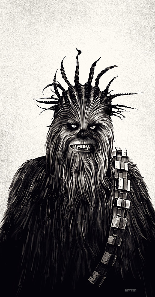 chewbacca by m7781