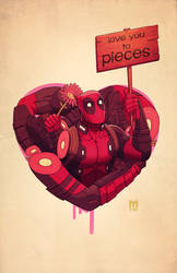 deadpool... love you to pieces