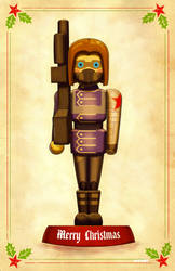 winter toy soldier