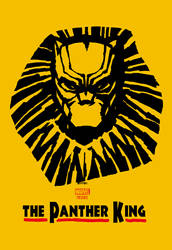 black panther x lion king by m7781