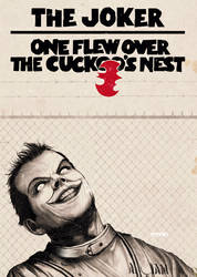 the joker one flew over the cuckoo's nest