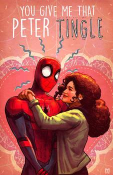 spider-man and MJ valentine's