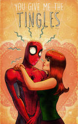 spider-man and Mary Jane valentine's