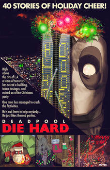 die hard x deadpool
