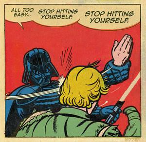 star wars x batman slap