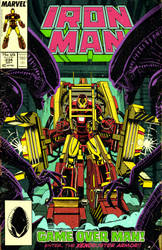iron man alien xenobuster armor
