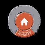 Orange Round Interior Concept Logo