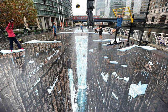 The World's Largest 3D Street Painting by HardEnemy