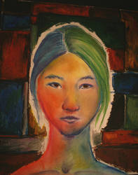 Self-Portrait : colorful